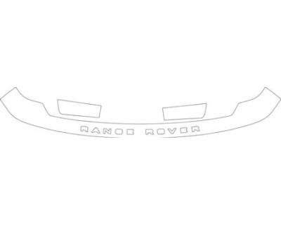 2003 LAND ROVER RANGE ROVER  Hood Fender Kit