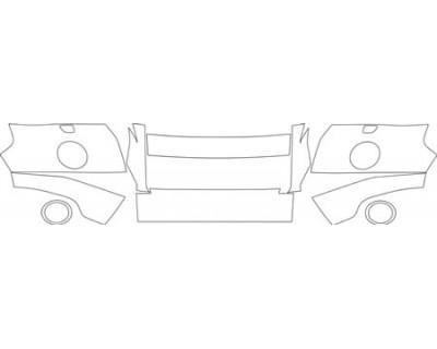 2010 LAND ROVER LR2 HSE  Bumper Kit