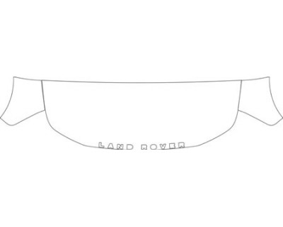 2010 LAND ROVER LR2 HSE  Hood Fender Kit