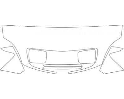2002 LEXUS RX  HOOD FENDER MIRROR AND GRILLE KIT WO RELIEF