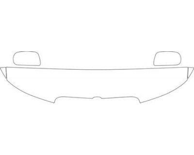 2001 LINCOLN TOWN CAR  HOOD FENDER AND MIRROR KIT
