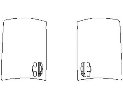 2020 LEXUS LX 570 WITH SPORT PKG. DOORS FRONT