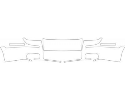 2009 MERCURY GRAND MARQUIS GS  Bumper Kit