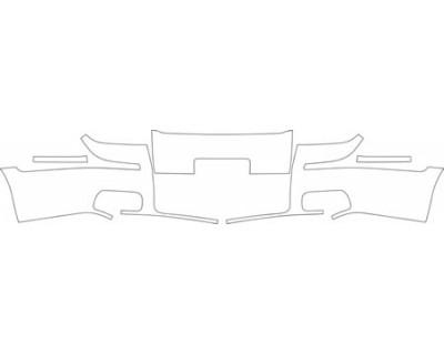 2009 MERCURY GRAND MARQUIS GS  Bumper (plate Cut Out) Kit