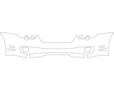 2004 BENTLEY CONTINENTAL GT  Bumper Kit
