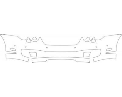2004 BENTLEY CONTINENTAL GT  Bumper (with Sensors) Kit