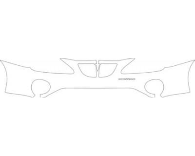 2008 PONTIAC GRAND PRIX BASE  Bumper Kit