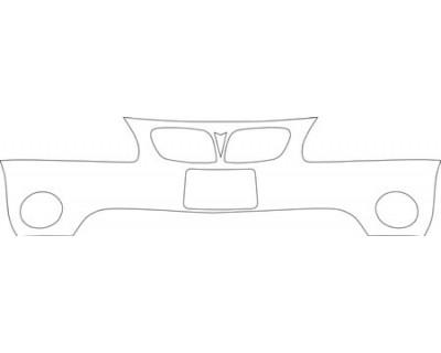 2000 PONTIAC GRAND PRIX GTP  BUMPER KIT