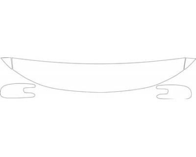 2000 PONTIAC GRAND PRIX GTP  HOOD FENDER AND MIRROR KIT