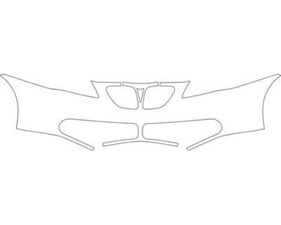2008 PONTIAC G6 CONVERTIBLE  Bumper Kit