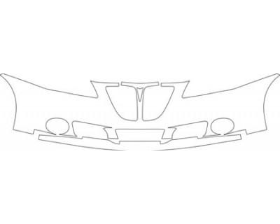 2008 PONTIAC G6 GXP SEDAN Bumper Kit