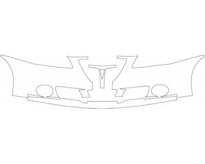 2008 PONTIAC G6 GXP SEDAN Bumper With Plate Cut Out Kit