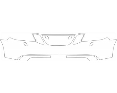 2008 SAAB 9-7X AERO  Bumper With Washers Kit