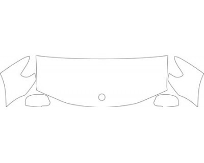 2008 SAAB 9-7X AERO  Hood Fender Mirror Kit