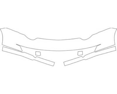 2004 SATURN ION QUAD-COUPE BASE MODEL  Bumper Kit