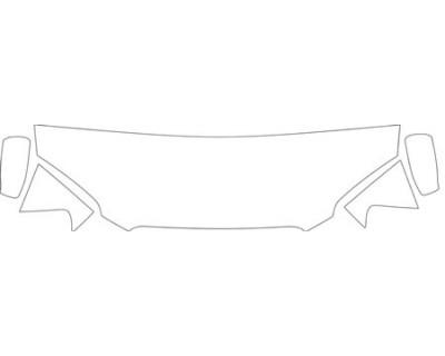 2004 SUBARU IMPREZA 25I  Hood Fender Mirror Kit