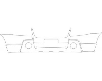 2007 SUZUKI GRAND VITARA BASE  Bumper (plate Cut Out) Kit