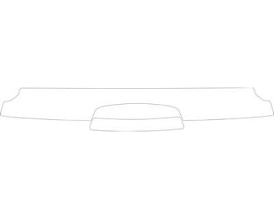 2007 SUZUKI GRAND VITARA BASE  Rear Bumper Deck Kit