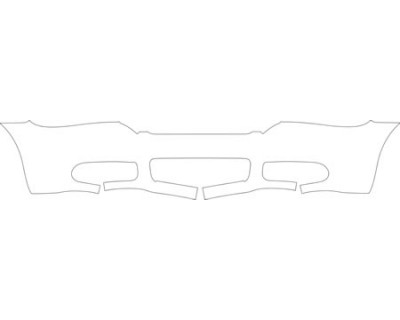 2006 VOLVO C70 T5  Lower Bumper Kit