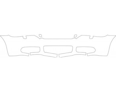 2006 VOLVO C70 T5  Lower Bumper (with Washers) Kit
