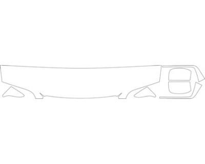 1998 VOLVO S70  HOOD FENDER AND MIRROR KIT