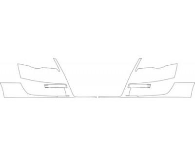 2007 VOLKSWAGEN PASSAT VR6 4MOTION SPORT WAGEN Bumper Kit