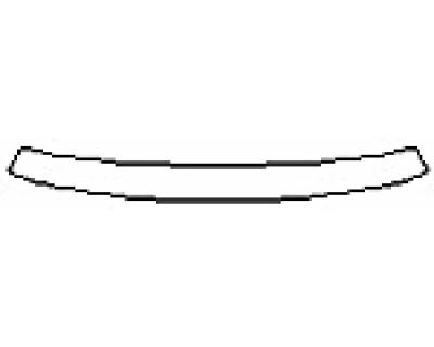 2016 DODGE DART AERO Rear Bumper Deck