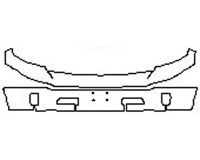 2018 DODGE RAM 1500 Bumper