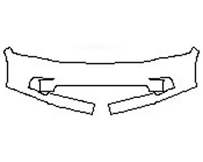 2017 DODGE RAM 1500 Bumper(Sport 1 Piece)