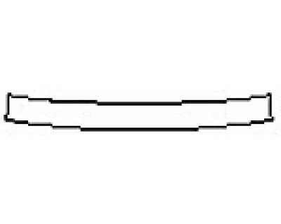 2017 LEXUS GS F Rear Bumper Deck