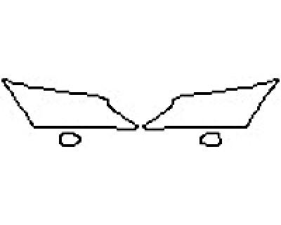 2018 LEXUS RX 350 F-SPORT Headlights Fog Lights