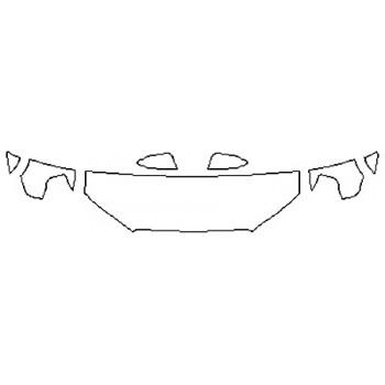 2019 TOYOTA 4RUNNER SR5 Hood (18 Inch) Fenders Mirrors