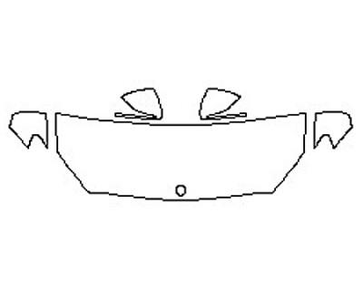 2017 MERCEDES C-CLASS C63 AMG S SEDAN Hood (24 Inch) Fenders Mirrors