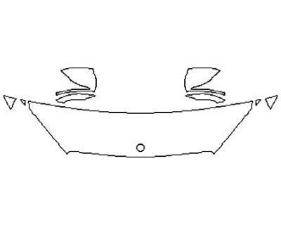 2017 MERCEDES S-CLASS SEDAN S600 Hood (18 Inch) Fenders Mirrors