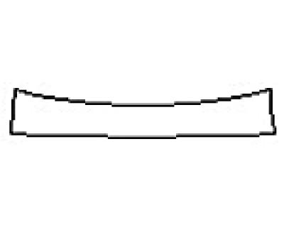 2017 MERCEDES S-CLASS SEDAN S600 Rear Bumper Deck