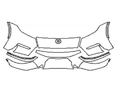 2020 NISSAN 370Z NISMO Bumper