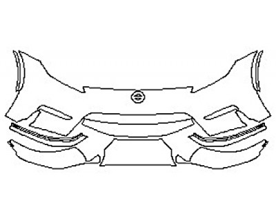 2020 NISSAN 370Z NISMO Bumper (Less Seams)