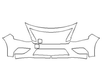 2020 NISSAN VERSA S Bumper (2 Piece)
