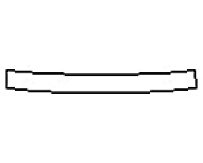 2020 NISSAN VERSA S Rear Bumper Deck