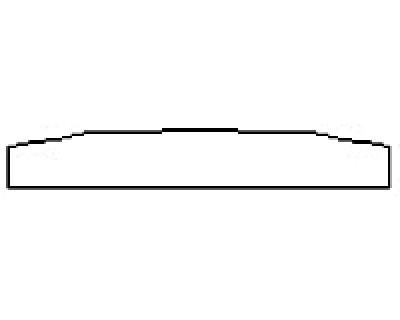 2018 ACURA RDX Rear Bumper Deck