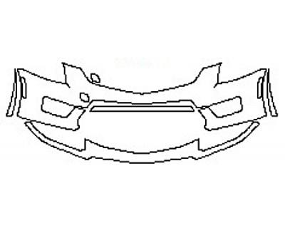 2017 CADILLAC ATS-V COUPE Bumper