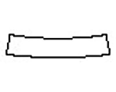2017 CHEVROLET CAMARO SS Rear Bumper Deck