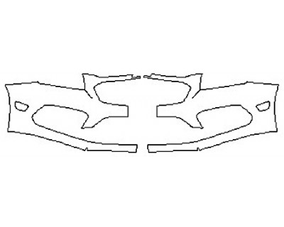 2017 CHEVROLET CRUZE LIMITED Bumper (Plate Cutout)