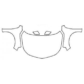 2017 CHEVROLET MALIBU L Full Hood  Fenders  Mirrors