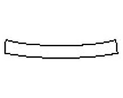 2018 CHEVROLET MALIBU LS Rear Bumper Deck