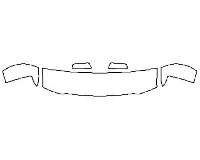 2018 CHEVROLET SILVERADO 1500 Hood(18 Inch)  Fenders  Mirrors