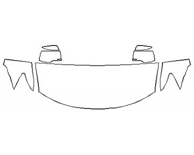 2020 DODGE JOURNEY CROSSROAD PLUS Hood  Fenders  Mirrors