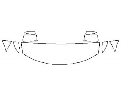 2020 DODGE JOURNEY CROSSROAD PLUS Hood (18 Inch)  Fenders  Mirrors