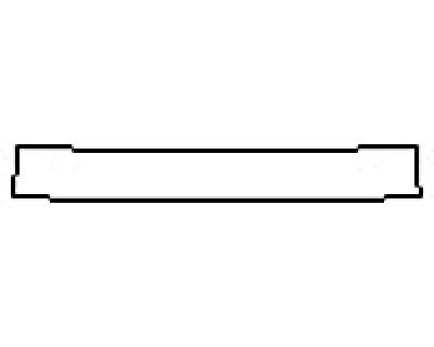 2017 HONDA CIVIC SEDAN LX Rear Bumper Deck