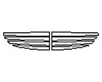 2017 MERCEDES C-CLASS SEDAN C450 AMG Grille